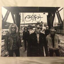 Jon Bon Jovi hand  signed photo 2017