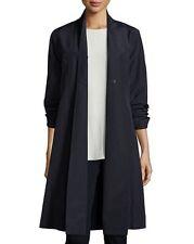 NWT Eileen Fisher Organic-Cotton/Nylon A-line Knee-Length Jacket XL (18) $268