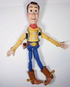 Disney Pixar Toy Story Fire Fightin' Woody Doll Hasbro 2004 O3050 ANDY COWBOY