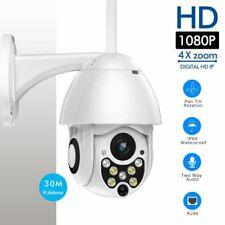 Wireless HD 1080P WiFi ZOOM CCTV Outdoor IP Camera PTZ Home Security IR Webcam