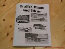 Horse Trailer plans + 15 trailers in this book - Plan