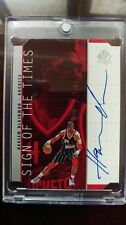 1998/99 UD SP Authentic  Hakeem Olajuwon Sign of the Times auto