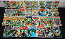 Vintage Dc Bronze Adventure Comics Lot 31pc Aparo Spectre Set Aquaman 6.5-9.0