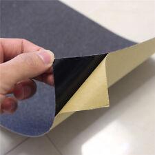 5 Sheets Brand New Skateboard Grip Tape Black 9'' x 33'', anti-slip tape