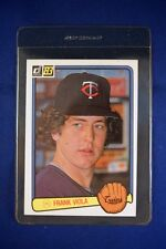 Frank Viola 1983 DONRUSS Rookie Card #382 *FREE SHIPPING*