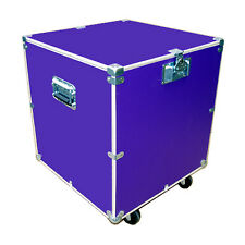 "Utility Trunk Case 1/2"" Ply Case Kit w/Bare Wood Edges 24"" Cube - Purple"