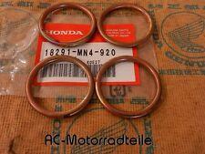 HONDA CBX 550 CBX 650 GUARNIZIONE CURVA MARMITTA anelli di tenuta set gasket header ORIG