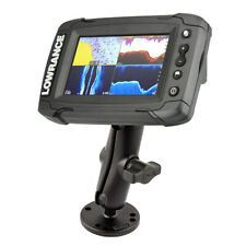 """RAP-B-101-LO11 1.0"""" Dble BL Mnt for Lowrance Mrk 4/5, Elite 3/4/5 and Elite-Ti 5"""