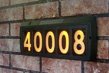 Gama Sonic Solar Address Sign Light Illuminated green ground or wall mount   E10