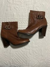 Banana Republic Womens Booties Boots Brown Leather Size 8