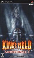 USED ​​PSP King's Field Additional I Game soft