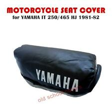 YAMAHA IT250 IT465 H J 1981-1982 SEAT COVER WITH WHITE LOGOS IT 250 IT 465