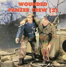 Jaguar Models 1/35 Wounded Panzer Crew (2 Resin figures) - 63039