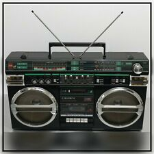 GHETTOBLASTER  RADIORECORDER CROWN IEC R-20  HP2  #0046