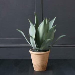 Abigail Ahern Large Faux Potted Aloe Plant