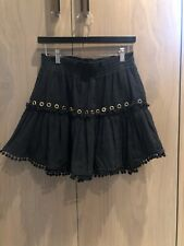 Misa Los Angeles Gauze Skirt With Grommets Size L