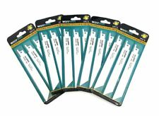 Reciprocating Saw Blades S922BF Bi Metal Pack of 15 Fast Cuts for Metal & Pipes