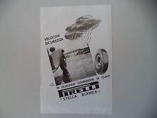 advertising Pubblicità 1940 PNEUMATICI PIRELLI STELLA BIANCA