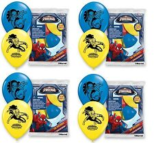 NEW Spider-man Birthday Party Favor (24CT) Latex Balloons New & Sealed Supplies~