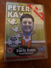 Peter Kay The Early Days Funny Business (DVD) New and Sealed