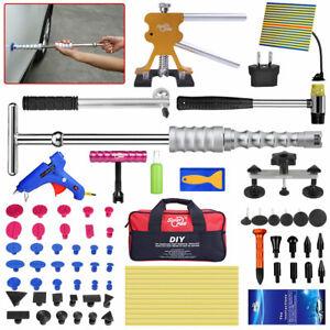 85pc PDR Tools Line Board Paintless Repair Dent Puller Slide Hammer Glue Gun Kit