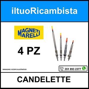4 CANDELETTE FORD C-MAX 1.6 TDCi - FIESTA V 1.4 TDCi - FIESTA VI - FIESTA VI VAN