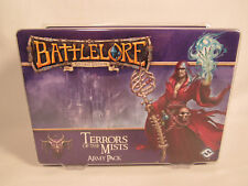 BATTLELORE 2ND EDITION TERRORS OF THE MIST ARMY PACK EXPANSION NEW SEALED BOX
