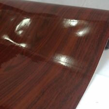 "Wood Grain adhesives Vinyl - 24""x10 feet Gloss Wood Grain GW7123"