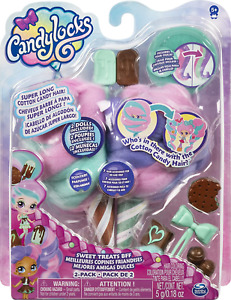 Candylocks BFF 2-Pack, Mint Choco Chick and Choco Lisa, Scented Collectible with
