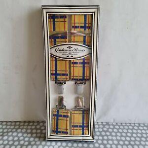 Gentlemans Braces Made In Rutland England. Brand New In Box