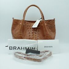 NWT Brahmin Small Mallory Toasted Melbourne Satchel $345 Winter 2019 Purse