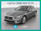2019 Infiniti Q50 3.0t LUXE Sedan 4D ide Air Bags Electronic Power Steering Cruise Control Remote Trunk Release Tilt