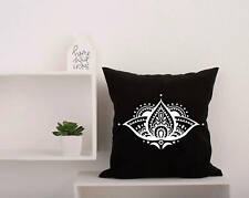 Mandala Pillow Covers. Decorative Bohemian Pillowcase. Boho Yoga Pillow #29