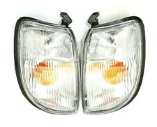 CORNER INDICATOR LIGHT LAMP PAIR FITS 1998 1999 2000 NISSAN NAVARA FRONTIER D22