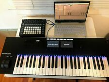 Native Instruments Komplete Kontrol S49 Mk2 Keyboard - Barely Used