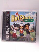 Hot Shots Golf (Sony PlayStation 1, 1998)  CIB Tested Fast Shipping