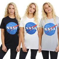 Nasa - Space - Circle Logo - Official Ladies T-shirts - Sizes S-XL