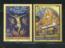 SERBIA Y MONTENEGRO. Año: 2004. Tema: PASCUA.