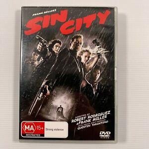 Sin City (DVD, 2005) Jessica Alba Benicio Del Toro Region 4