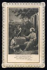 santino merlettato-holy card-canivet*LETAILLE pl.5278 SS.MARTA E MARIA