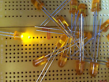 etc. Agilent hlmp 3950 k002 LED Green verde claro 5mm vintage reparación 50x org