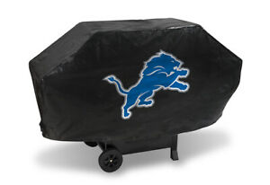 NFL Detroit Lions Deluxe Padded Grill Cover