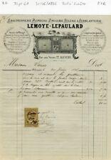 Dépt 61 - Alençon 22 Rue Aux Sieurs - Belle Entête Fourneaux de Cuisine de 1886