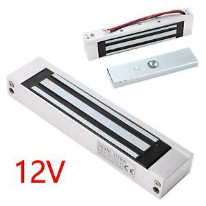 12V Electric Magnetic Door Lock Electromagnetic & Access Control 180KG