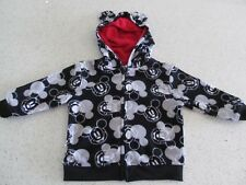 Mickey Mouse Black and White Toddler Baby Hoodie /  Sweater