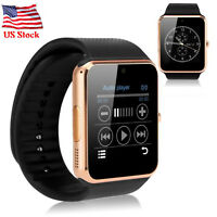 Bluetooth Smart Watch Unlocked Wristwatch for Android Samsung Galaxy S9 S8 S7 LG