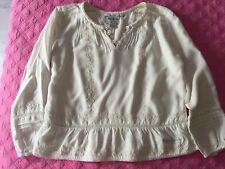 "BLOUSE BLANC CASSE FILLE 7 ANS ""PEPE JEANS"""