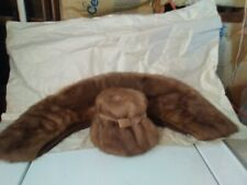 Mink Hat And Collar