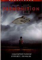 Premonition, DVD, 2005, Japanese Language with English/Spanish Subtitles