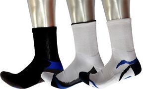 Bulk 6 Pairs Men 3/4 Ankle Sport Socks